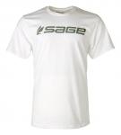 Sage Logo Tee - White